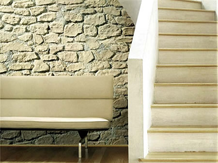 Naturstein Panelle für die Wände