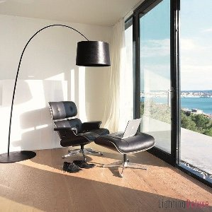 design leuchten f r gro e wohnk chen. Black Bedroom Furniture Sets. Home Design Ideas